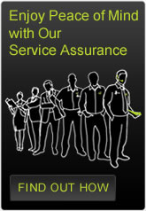 Enjoy Peace of Mind with Our Service Assurance. Find out how.