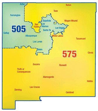 575 area code